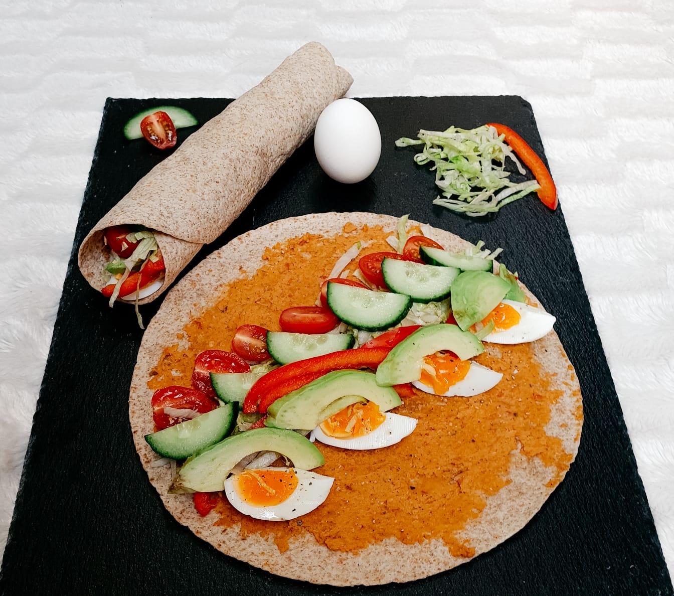 Vegetarische wrap
